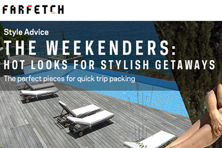 Farfetch x TheCool: HOT LOOKS FOR STYLISH GETAWAYS