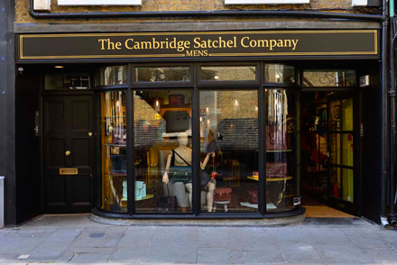 THE CAMBRIDGE SATCHEL COMPANY MEN'S STORE