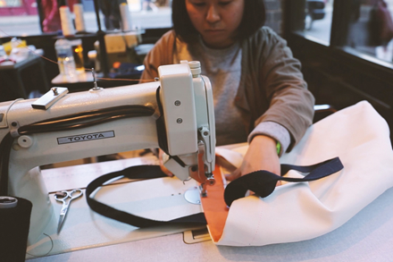 VIDEO: The Albam Tote Bag Workshop