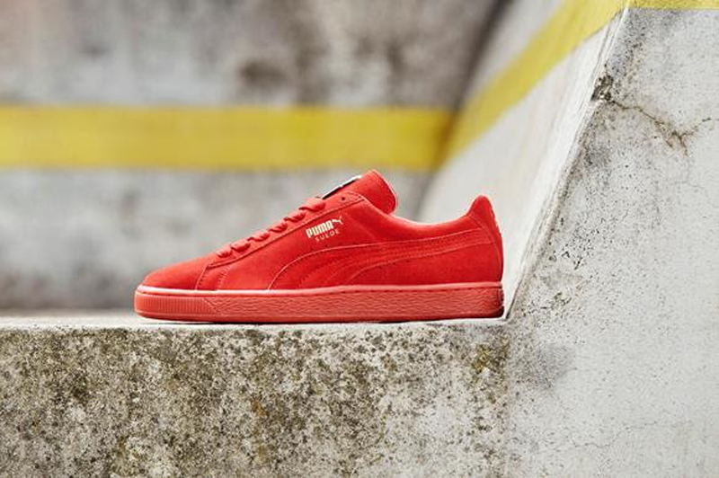 THE PUMA SUEDE MONO ICED